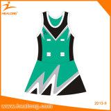Платья Netball девушок Healong изготовленный на заказ облегченные сублимированные