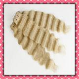 types de cheveu profonds brésiliens d'onde de cheveux humains de qualité de la pente 8A