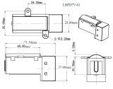 6+1 Räder, Motor richteten hohen magnetischen geschützten Digital-Kostenzähler für KWH-Messinstrument auf (LHPD7V-01)
