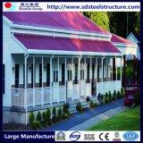 Stahlrahmen Haus-Stahl Haus-Modulares Haus