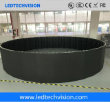 China LED Screen Supplier, P3.91mm Curved Rental LED Screen