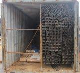Tubos de acero negros rectangulares cuadrados redondos para la construcción de edificios