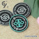Acessórios de borracha do vestuário da etiqueta do PVC do logotipo/alta qualidade da companhia