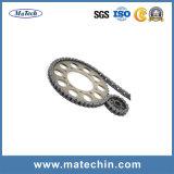 Forjamento personalizado motocicleta fazendo à máquina do CNC para a roda dentada Chain