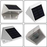 4개의 LED 태양 강화된 정원 안전 옥외 방수 빛