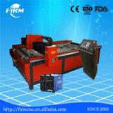 Cortador de alumínio profissional do plasma do CNC da estaca do aço inoxidável