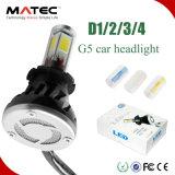 トップセラー4000lm H4 H13 9004 H13 H7 H8 H9 H11/H16 9005 9006の車LEDのヘッドライトの球根の変換キットLED車の球根