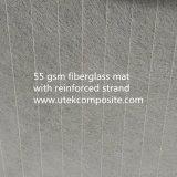 couvre-tapis de surface de la fibre de verre 55GSM avec le brin renforcé