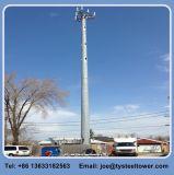 Galvanzied 강철 폴란드 안테나 돛대 원거리 통신 GSM WiFi 탑