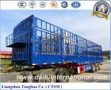 Chino Fabricante 3-Tier Fence / Stake Truck Trailer