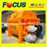 Смеситель твиновского вала высокого качества Js2000 конкретный, Forced смеситель цемента для сбывания