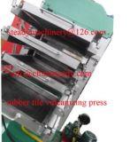Suelo de azulejo de goma que cura la máquina de la prensa