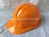 아BS는 모자 턱끈을%s 가진 안전 헬멧을 송풍한다