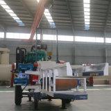 Máquina trituradora de residuos de madera astillado de madera