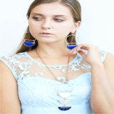 Pendiente determinado del collar de la nueva del diseño de la resina joyería de la manera