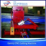 Macchina di smussatura di montaggio di CNC H del fascio di taglio d'acciaio di profilo con Kr-Xh di taglio alla fiamma del plasma