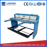 Máquina que pela plateada de metal de la hoja del esquileo Q01-2X1000 del pie del metal