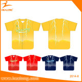 Jersey bon marché Unifroms de base-ball d'usure de jeu de baseball d'illustration de sublimation