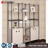 容易なアセンブリ引出しが付いている調節可能な鋼鉄木の単位の家具