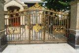 Puerta del hierro del arte del oscilación de Decoractive