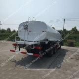HOWO 6X4 왼손 드라이브 20000L 물 탱크 트럭