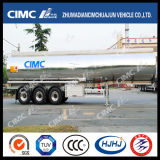 Sale chaud Cimc Huajun 3axle Fuel/Oil/LPG Aluminium Alloy Tanker