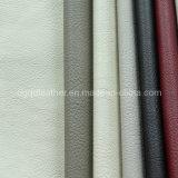 Cuir en cuir de PVC d'unité centrale de premier de vente de Quliaty cuir élevé de meubles