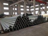 Seção Polygonal borne de aço galvanizado