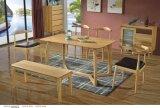 우연한 옥외 가냘픈 나무로 되는 테이블