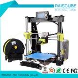 Imprimante 3D de bureau chaude de Fdm de haute précision de la vente 210*210*225mm de Raiscube R2