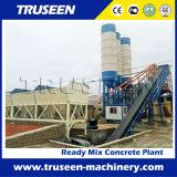 Planta de mistura Hzs90 concreta usada fazendo o concreto comercial