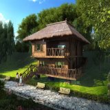 Rendição exterior residencial Project-1 de Jingxingu