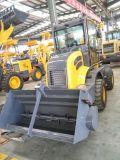 1.5 Tonnen-Vorderseite-Ladevorrichtungs-hydraulische Minirad-Ladevorrichtung