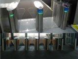 Barrière infrarouge automatique à volets rabattables avec système de contrôle d'entrée