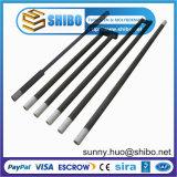 Elemento de calefacción de alta temperatura del carburo de silicio (SiC), calentador del horno del Sic