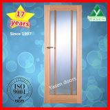 Porte en bois en verre de qualité