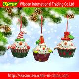 Decorazione d'attaccatura dell'albero di Natale della torta dell'interno dell'ornamento