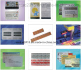 Impressão do cartão e sistema pagados antecipadamente de Hotstamping