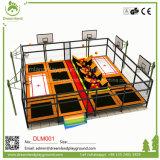 Парк Китая малый крытый Trampolin с Slam