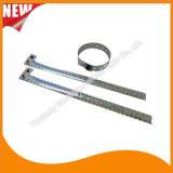 Faixas holográficas do bracelete dos Wristbands da identificação do costume do entretenimento (E8070J-24)