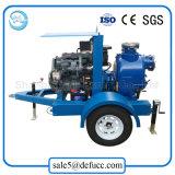 De aanhangwagen Opgezette Pomp van het Afval van de Instructie van de Dieselmotor Zelf