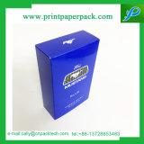Contenitore impaccante di carta della carta patinata del profumo della casella di regalo di regalo cosmetico su ordinazione del contenitore
