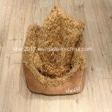 온난한 연약한 개 고양이 소파 베드는 매트 애완 동물 부속품을%s 가진 양털 침대를 귀여워한다