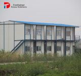 鉄骨フレームPU/EPS/Glassのウールのパネルの可動装置の家