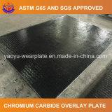 Placa compuesta cubierta carburo del cromo