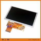 5 módulo 40pins/50pins do diodo emissor de luz 500CD/m2 TFT LCD da polegada 800*480 18