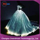 Платье венчания оптического волокна освещения