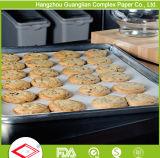 Papel de pergamino de la hornada del silicón del uso de la panadería para la guarnición de la bandeja
