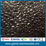 Le Top Ten de la Chine vendant les produits 201 décoratifs a gravé la feuille en relief de plaque d'acier inoxydable