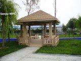 Pabellón al aire libre de WPC con seis esquinas